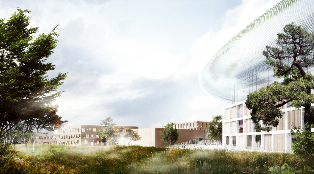 """Illustration: ESS/Architectural firm Team Henning Larsen Architects""."