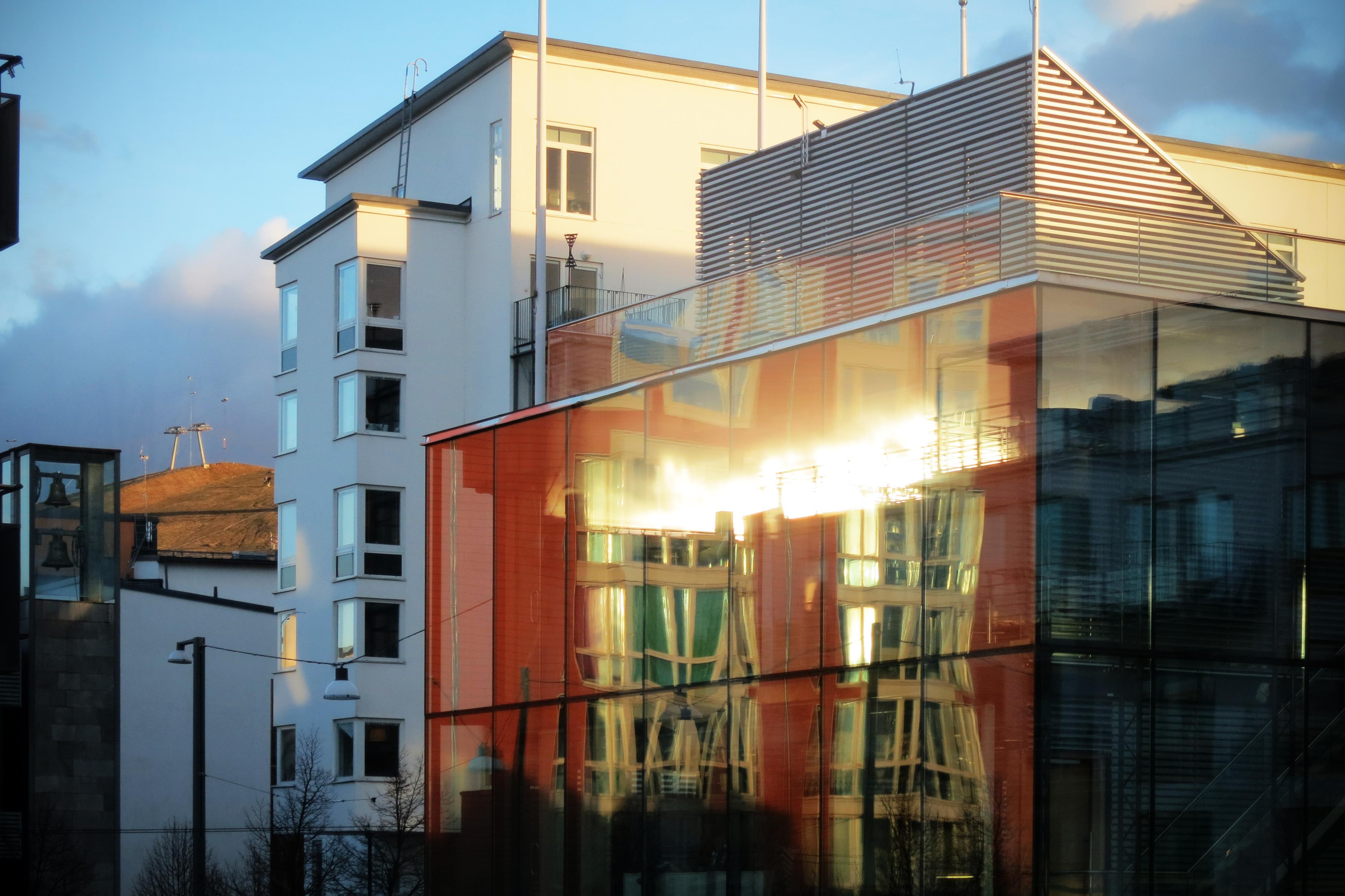 Solreflex i GlashusEtt